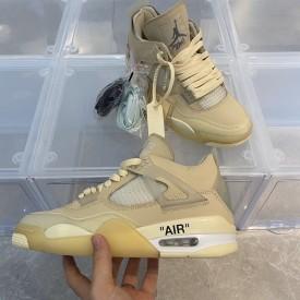 Replica Off White x Air Jordan 4
