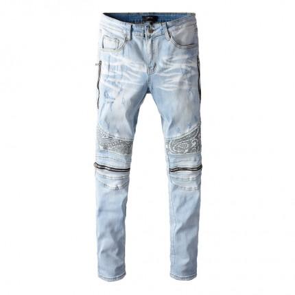 Replica Amiri Bandana Mx2 Jean