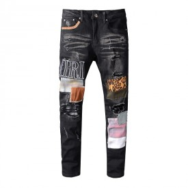 Replica Amiri Grunge Patch Jean