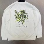 Replica Amiri Leaf Print Sweatshirt