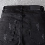 Replica Amiri Mx1 Black Jean