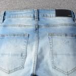 Replica Amiri Scarves Art Patch Jean