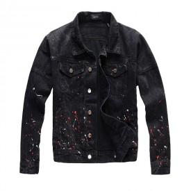 Replica Amiri Paint Jacket Black