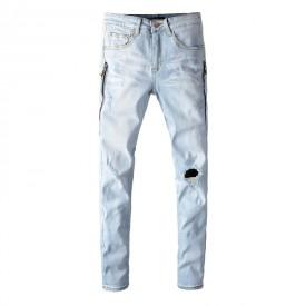Replica Amiri Watercolor Half Track Jean