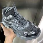 Replica Balenciaga Track 2 Sneakers Grey