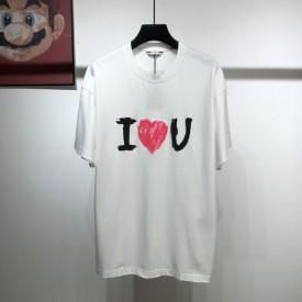 Replica Balenciaga I Love U T shirt