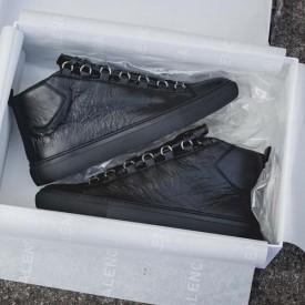 Balenciaga Arena High Sneakers Black