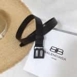 Replica Balenciaga Hourglass Thin Belt
