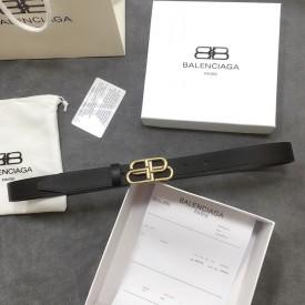 Replica Balenciaga BB Thin Belt