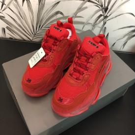 Replica Balenciaga Triple S Sneakers Red