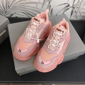Replica Balenciaga Triple S Sneakers Pink