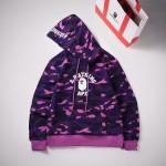 Replica Bape Hoodies purple
