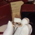 replica cartier nail ring with diamond