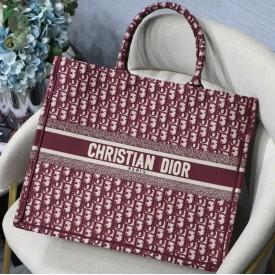 Replica Dior Book Tote Burgundy