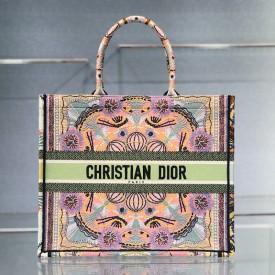 Replica Dior Book Tote Multicolor