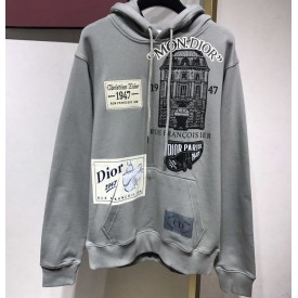 Replica Dior Archives Patch Hoodie