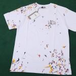 Replica Dior Paint Print T shirt