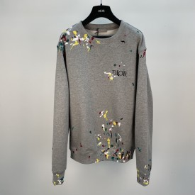 Replica Dior Paint Print sweatshirt