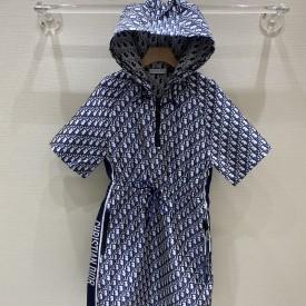 Replica Dior Short Hooded Dress