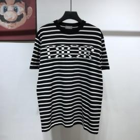 Replica Dior Striped T shirt