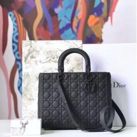 Replica Lady Dior Ultra Matte Tote Bag