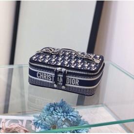 Replica Dior Oblique Travel Jewelry Case