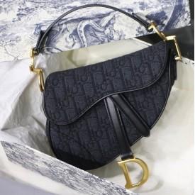 Replica Dior Oblique Saddle Bag