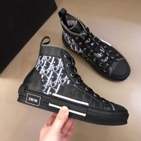 Replica Dior B23 High Top Oblique Black