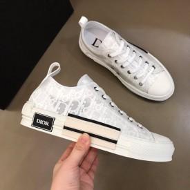 Replica Dior B23 Low Oblique White