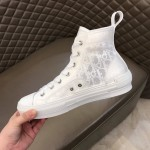 Dior B23 High Top Oblique White