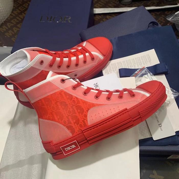 Replica Dior B23 High Top Red