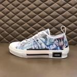 Replica Dior B23 Low Oblique Sneakers