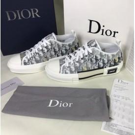 Replica Dior B23 Low Foxton Print