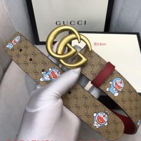 Replica Doraemon x Gucci belt