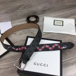 Replica Gucci GG belt with Kingsnake