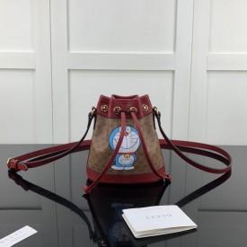 Replica Doraemon x Gucci mini bucket bag