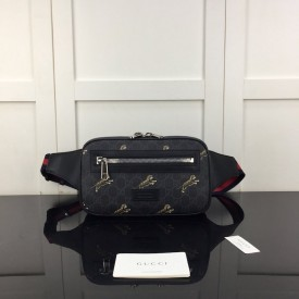 Replica Gucci Bestiary belt bag with tigers