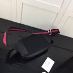 Replica Gucci GG Black belt bag