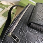 Replica Gucci GG embossed belt bag