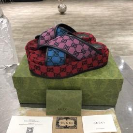 Replica Gucci GG Multicolour sandal