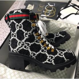 Replica gucci wool boot