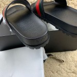 Replica Gucci Web slide sandal