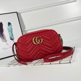 Replica Gucci GG Marmont Small Bag Red