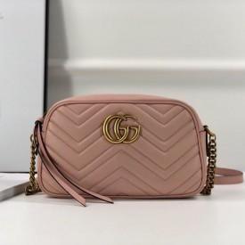 Replica Gucci GG Marmont Small Bag Pink
