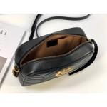 Replica Gucci GG Marmont Small Bag Black