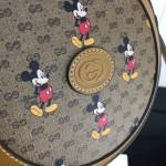 Replica Disney x Gucci round shoulder bag