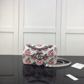Replica Gucci GG Apple Print Bag