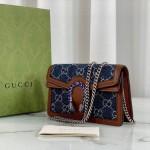 Replica Gucci Denim Dionysus small shoulder Bag