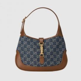 Replica Gucci Denim Jackie 1961 small shoulder bag