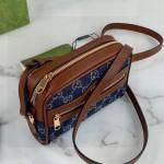 Replica Gucci Denim Ophidia GG mini Bag